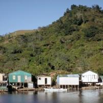Houses, Waterfront, Oak Ridge, Roatan, Caribbean