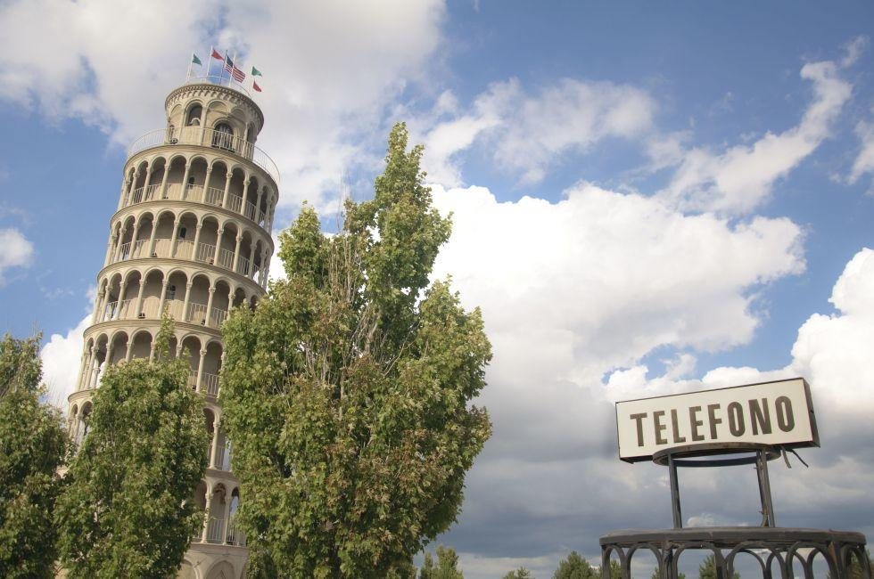 Leaning Tower of Niles, Illinois.