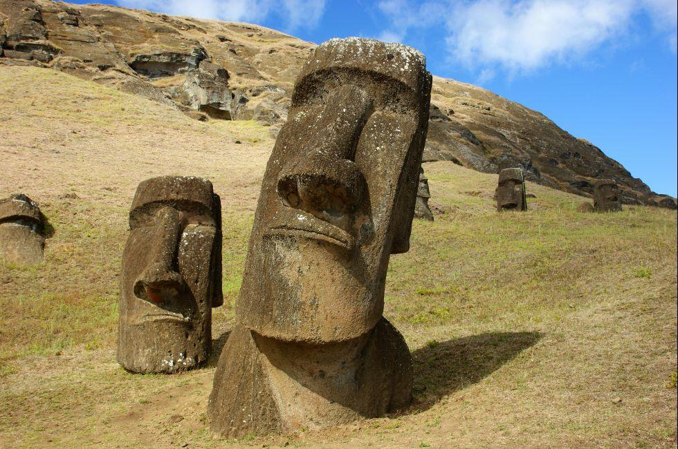 Moai, Easter Island, Chile
