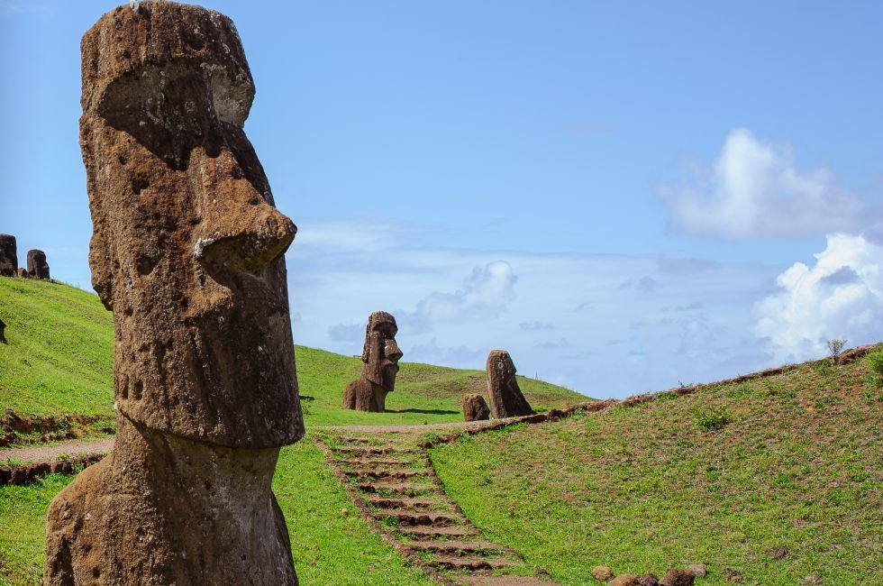 Statue, Easter Island, Chile