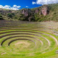 Ruins, Moray, Peru