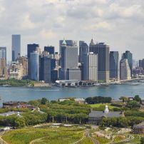 Governor's Island, New York Harbour, Financial District, New York City, New York, USA, North America
