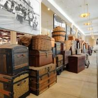 Luggage, Ellis Island Museum, Ellis Island, New York City, New York, USA