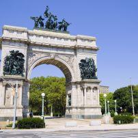 Soldiers' and Sailors' Arch, Grand Army Plaza, Brooklyn, New York City, New York