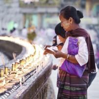 Full Moon Festival, Shwedagon Pagoda, Myanmar
