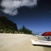 Boat, Beach, Mauritius