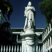 Queen Victoria Statue, City Hall, Port-Louis, Mauritius