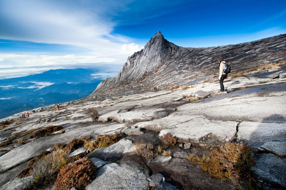 Hiker, Kinbalu Mountain, Kinbalu National Park, Kota Kinbalu, Malaysia