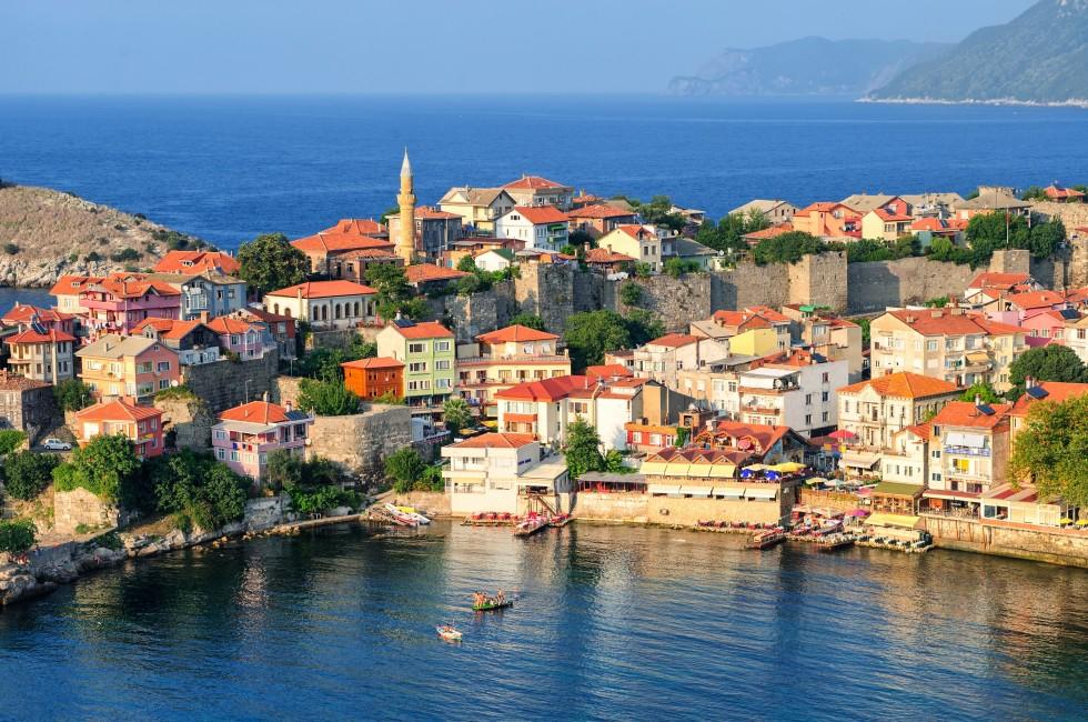 Cityscape, Amasra, Black Sea Coast, Turkey