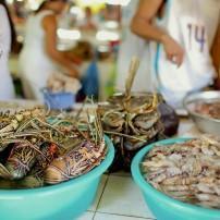 Shrimp, Market, Boracay, Philippines