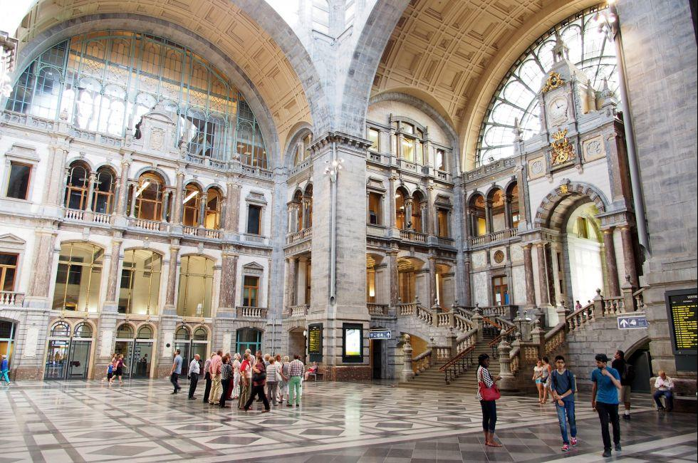 Central Railway Station, Antwerp, Belgium