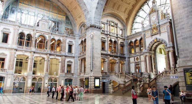 Central Railway Station, Antwerp, Belgium