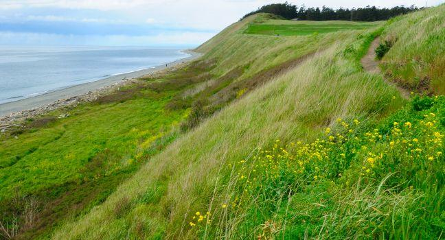 Ebey's Landing National Historic Reserve, Coupeville, Whidbey Island, The Puget Sound Islands, Washington, USA, North America