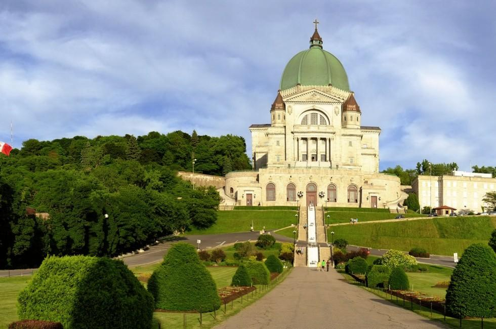 Saint Joseph's Oratory of Mount Royal, Cote-des-Neiges, Montreal, Quebec, Canada