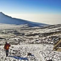 Climbing, Mount Kilimanjaro, Tanzania