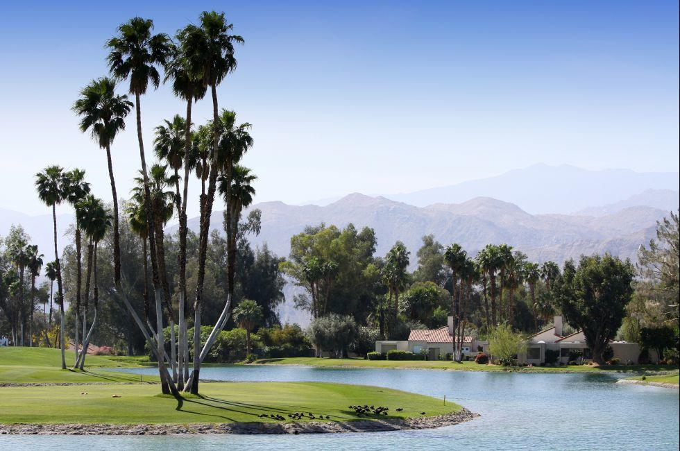 Golf Course, Mission Hills Country Club, Rancho Mirage, California