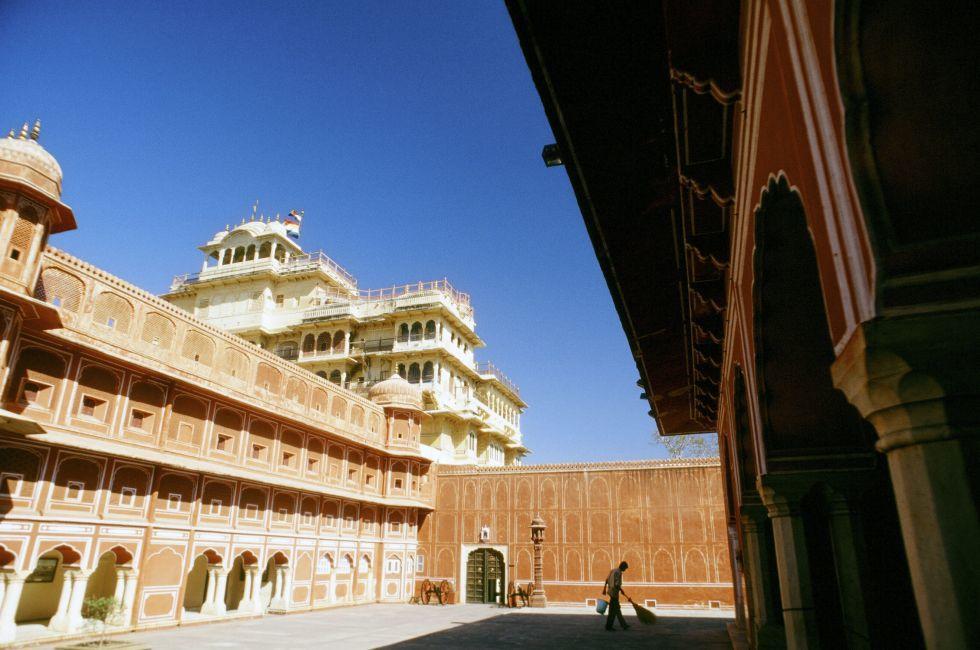 Jaipur Palace, India;