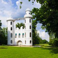 Castle, Peacock Island, Wannsee, Berlin, Germany