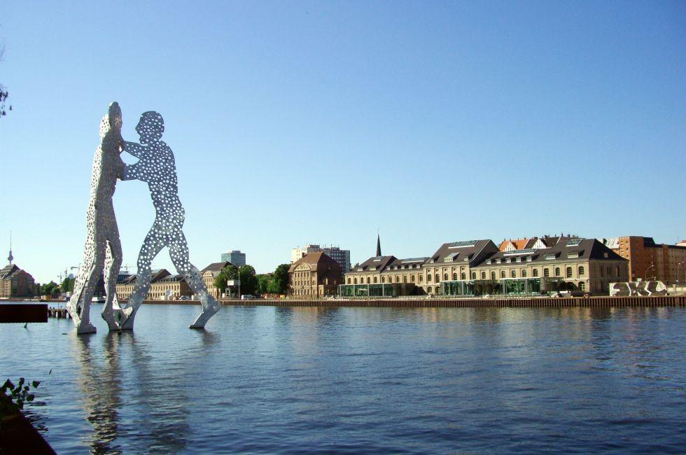 Molecule Man, Treptow, Berlin, Germany.