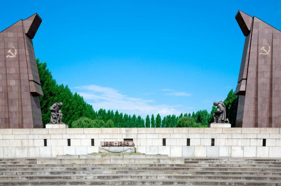 Soviet War Memorial, Treptower Park, Treptow, Berlin, Germany
