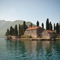 Floating Church, Bay of Kotor, Kotor, Montenegro