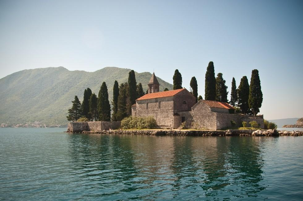 Floating Church, Bay of Kotor, Kotor, Montenegro