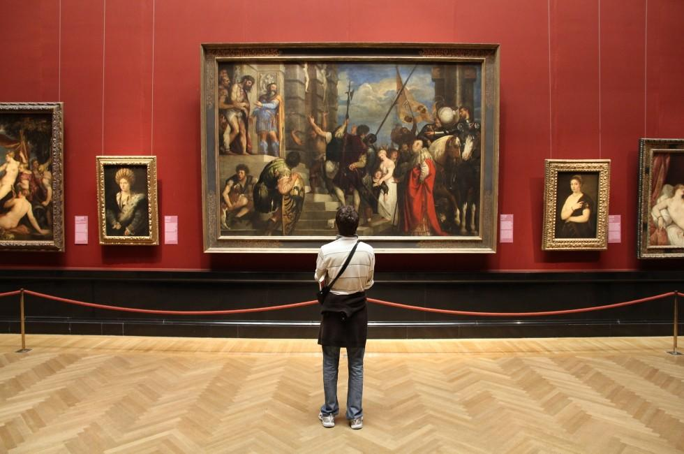 Tourist, Painting, Museum of Art History, VIenna, Austria