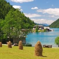 Lake Weissensee, Carinthia, Austria