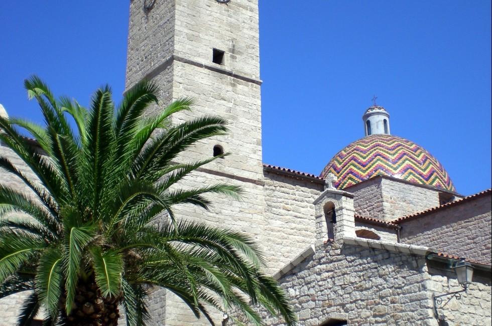 San Paolo Church, Olbia, Sardinia, Italy