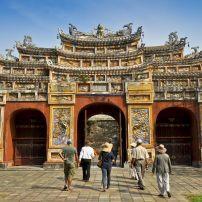 Hien Lam Pavilion Gate, The Citadel, Hue, Vietnam