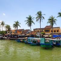 Bach Dang Wharf, Hoi An, Quang Nam, Vietnam