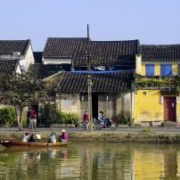 Waterfront, Houses, Hoi River, Hoi An, Vietnam