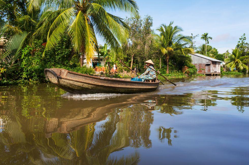 Boat, Mekong delta, Vietnam