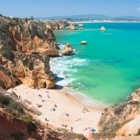 Beach, Coastline, Algarve Coast, Portugal