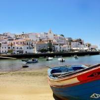 Boat, Ferragudo Bay, Algarve, Portugal