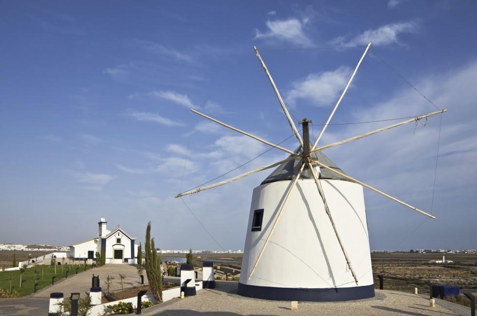Windmill, Castro Marim, Algarve, Portugal