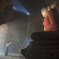 Statue, Buddhist Temple, Bagan, Myanmar