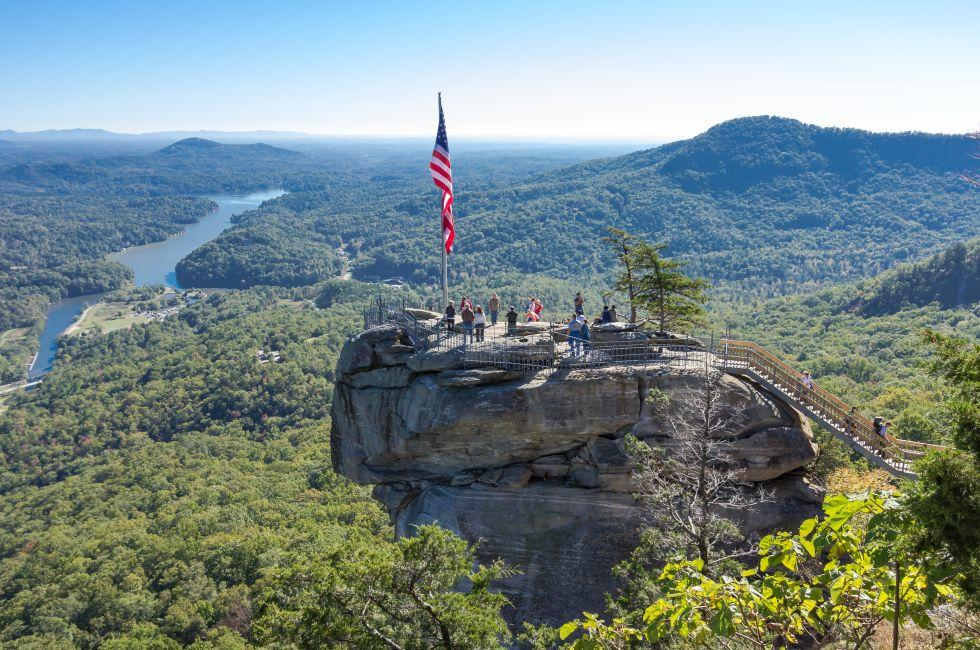 Chimney Rock, Lake Lure, Chimney Rock State Park, Chimney Rock, North Carolina