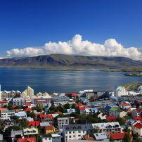 Downtown, Cityscape, Reykjavik, Iceland