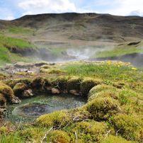 Hot Springs, Landscape, Reykjavik, Iceland