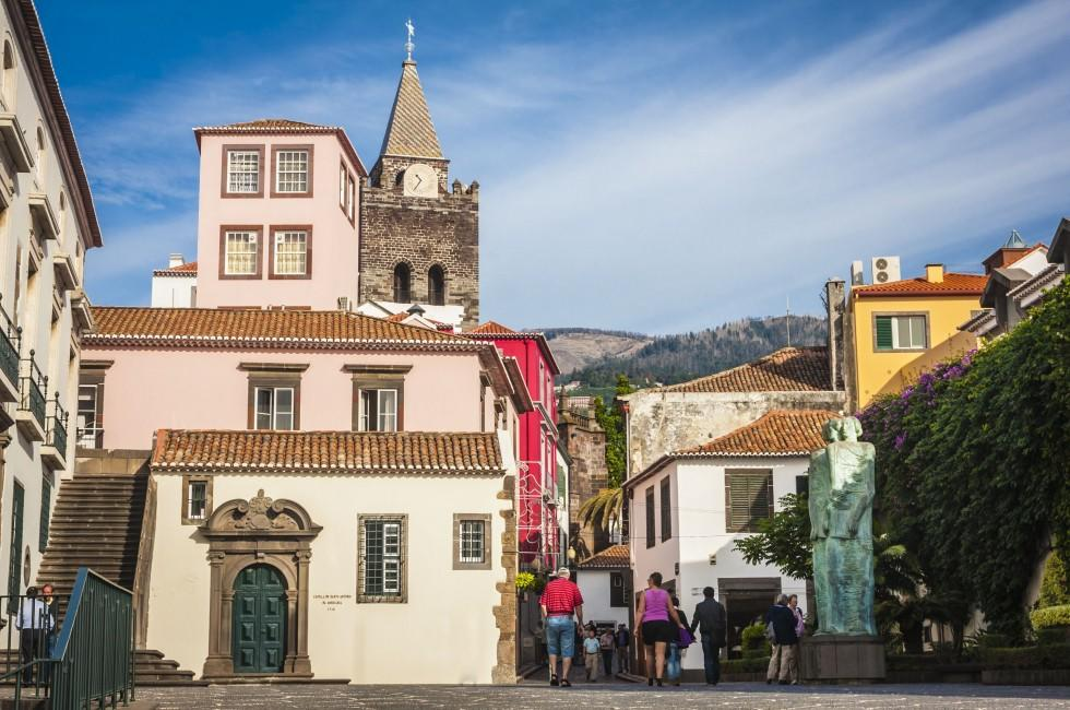 Old Town, Cathedral of Funchal, Funchal, Madeira, Portugal