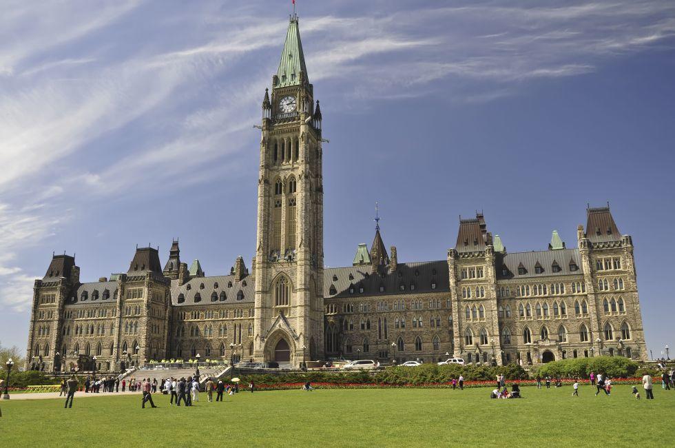 Canadian Parliament Building, Ottawa, Ontario, Canada