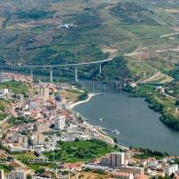Vineyards, Cityscape, Douro Valley, Alto Douro, Portugal