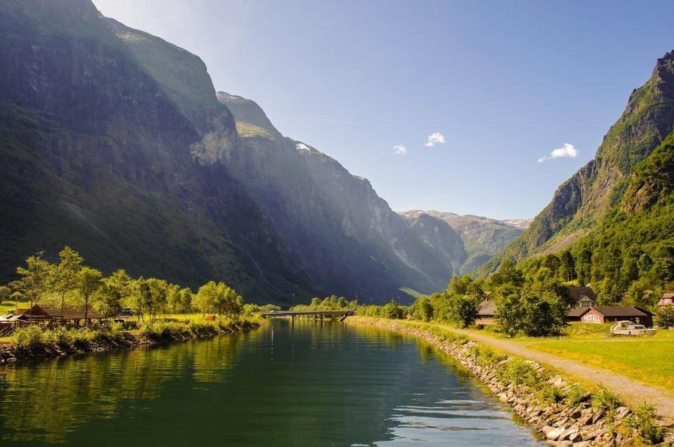 Sognefjord, Gudvangen, Norway