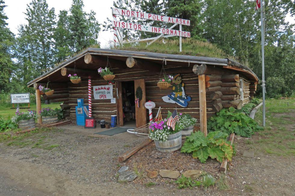 Visitor Center, North Pole, Alaska