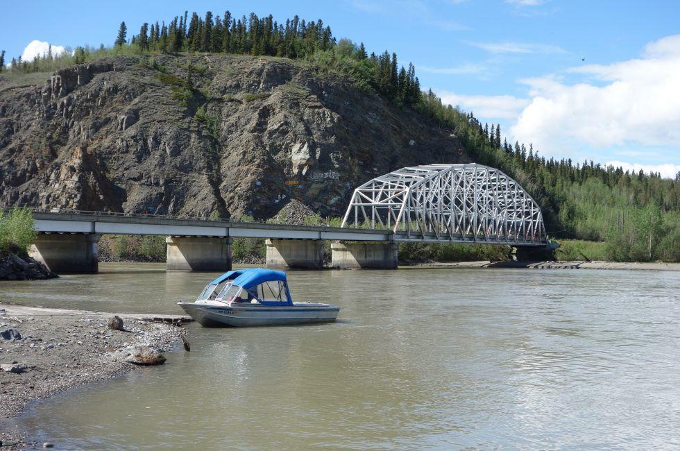 Bridge, Delta Junction, Fortymile Country, Alaska