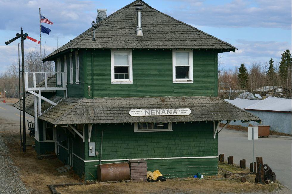 Train Station, Nenana, Alaska