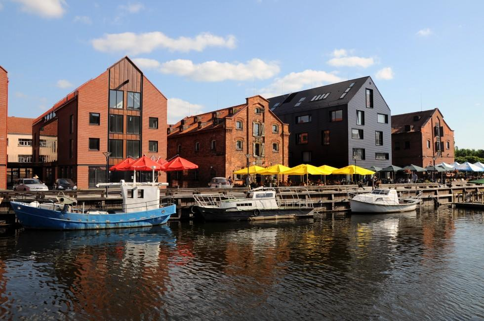 Waterfront, Old Town, Klaipeda, Lithuania