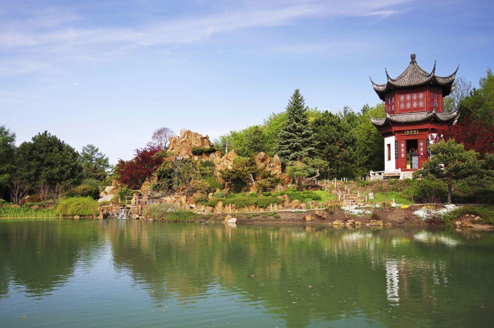 Montreal Botanical Gardens, Montreal, Quebec, Canada