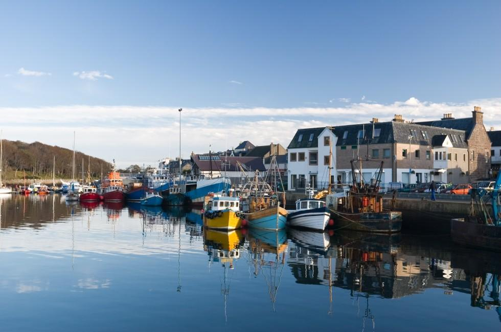 Stornoway Harbour, Isle of Lewis, Scotland